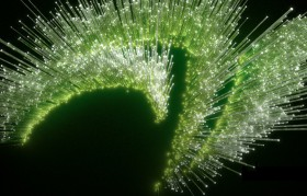NVIDIA claw logo with green spines