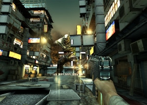 Screen shot of Dead Trigger 2.