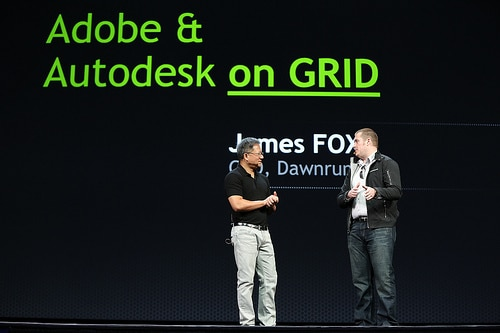 Adobe's James Fox talks about GRID VCA.