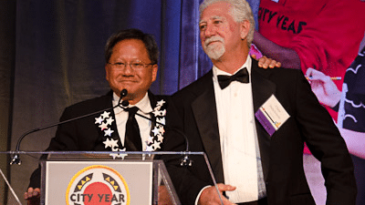 NVIDIA Co-Founders Receive Leadership Award from City Year Silicon Valley