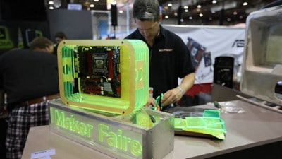 We Came, We Saw, We Made Stuff: NVIDIA's GeForce Team Hits the Maker Faire