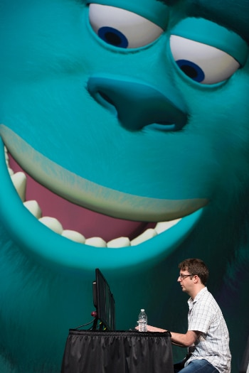 Monsters University close up