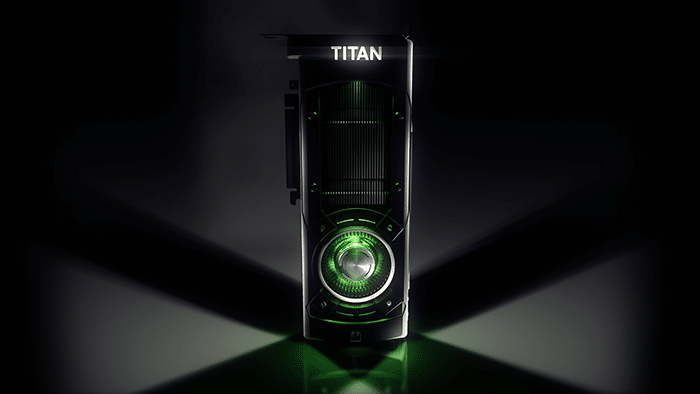 Jen-Hsun Huang presented the first production version of our new NVIDIA Titan X to Epic CEO Tim Sweeney at GDC Wednesday.