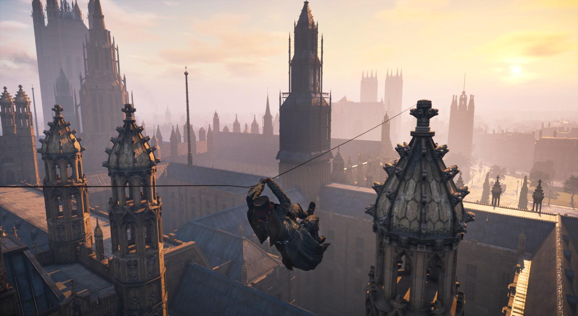 NVIDIA  GameWorks Studio遊戲技術工程技術團隊在《刺客教條:梟雄》中呈現的優美景色