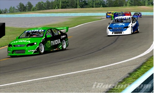 SIM RACING SHIFTS INTO HIGH GEAR AT THE NVIDIA CUP | The Official