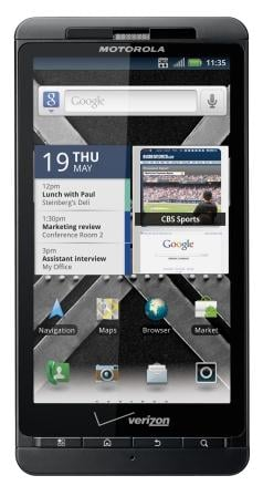 DROID DOES DUAL-CORE – VERIZON CUSTOMERS CAN NOW ENJOY THE