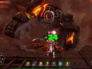 Screen shot of Blood Sword: Sword of Ruin THD.