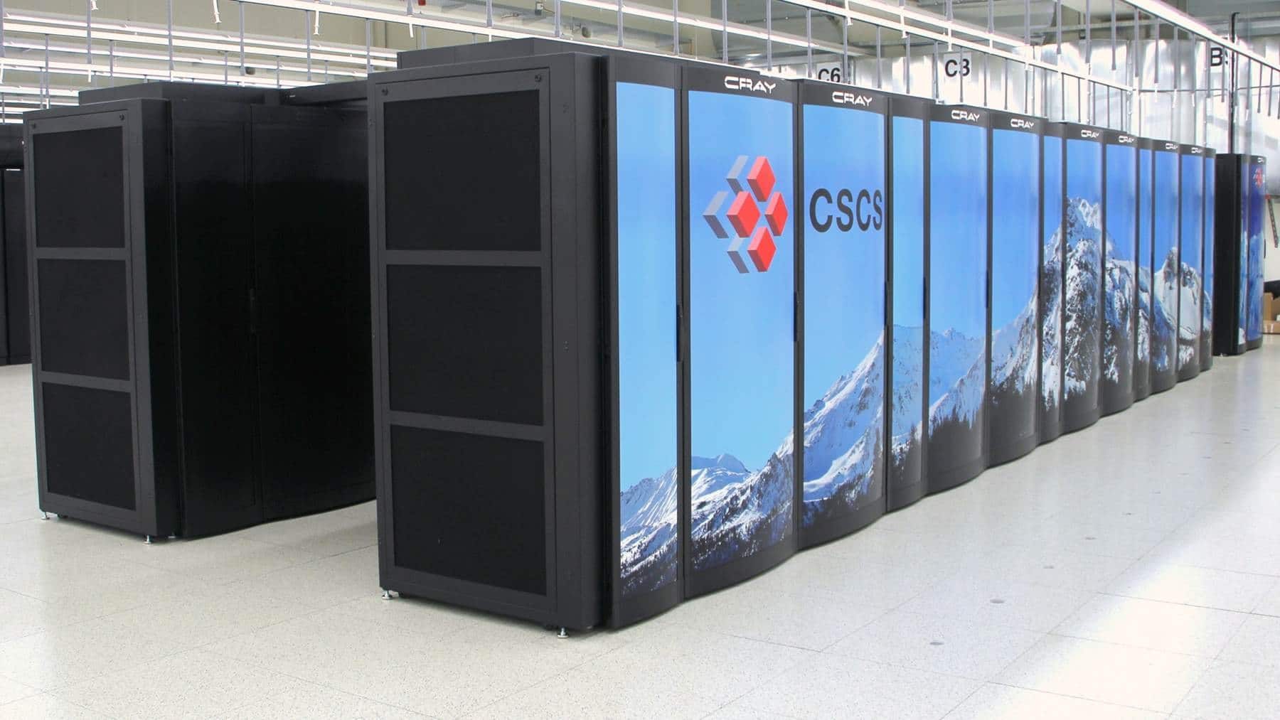 Swiss National Supercomputing Center Piz Daint supercomputer