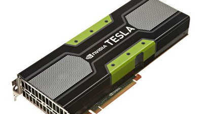 Not-so-secret weapon: the NVIDIA Tesla K40 GPU.