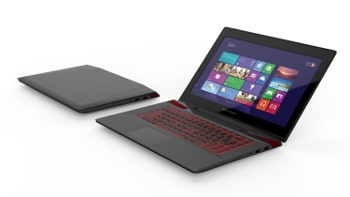 Touchscreen technology and cutting-edge graphics provided by the GeForce GTX 860M come together in the Lenovo Y50.