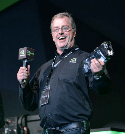 Say hello to my little friend: NVIDIA's Tom Petersen announced a Titan Z giveaway.
