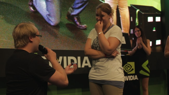 Expect anything: last year one fan proposed to his girlfriend on our stage at Gamescom.