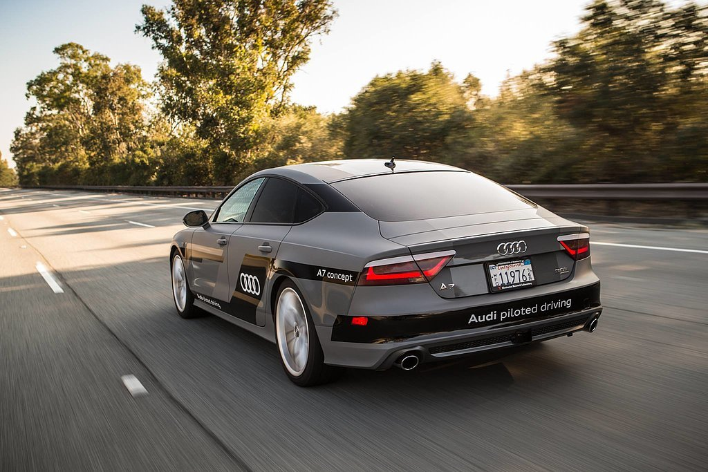 Let's roll: Audi and NVDIA are pioneering self-piloted cars.