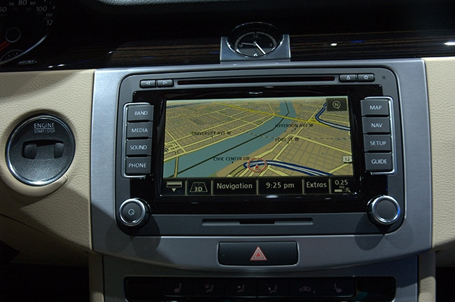 Vokswagen's Tegra-powered infotainment system is winning praise.