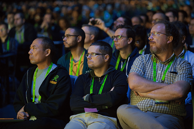 Thousands listened to Google's Jeff Dean explain how the search giant is using GPUs to accelerate deep learning.