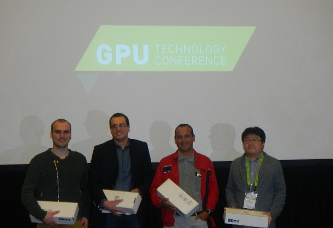 Finalists took home the NVIDIA GeForce GTX Titan X.
