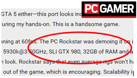PC Gamer on Grand Theft Auto V