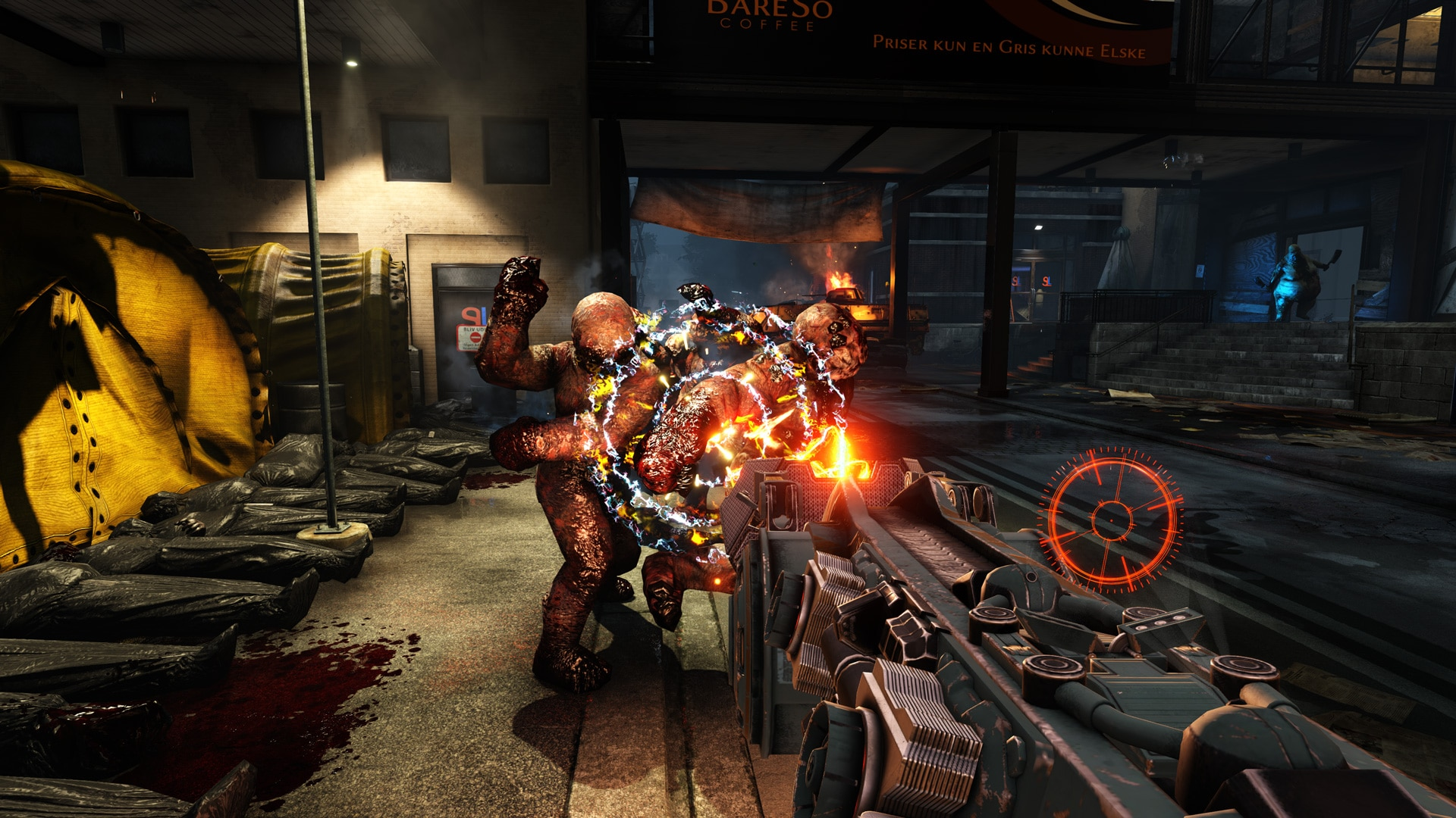 Preview still of Killing Floor 2 with NVIDIA FleX technology