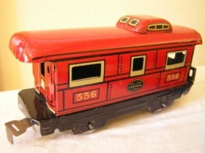 Childhood Inspirtion: a Marx Train Caboose
