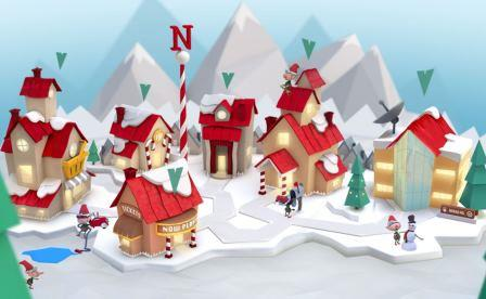 NORAD's North Pole.