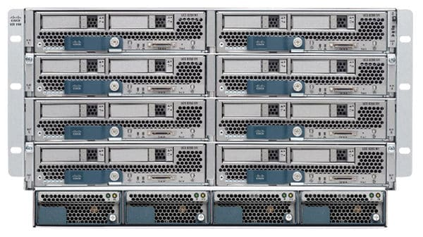 Cisco blade server chassis