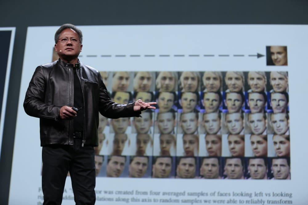 NVIDIA CEO Jen-Hsun Huang on AI and facial recognition