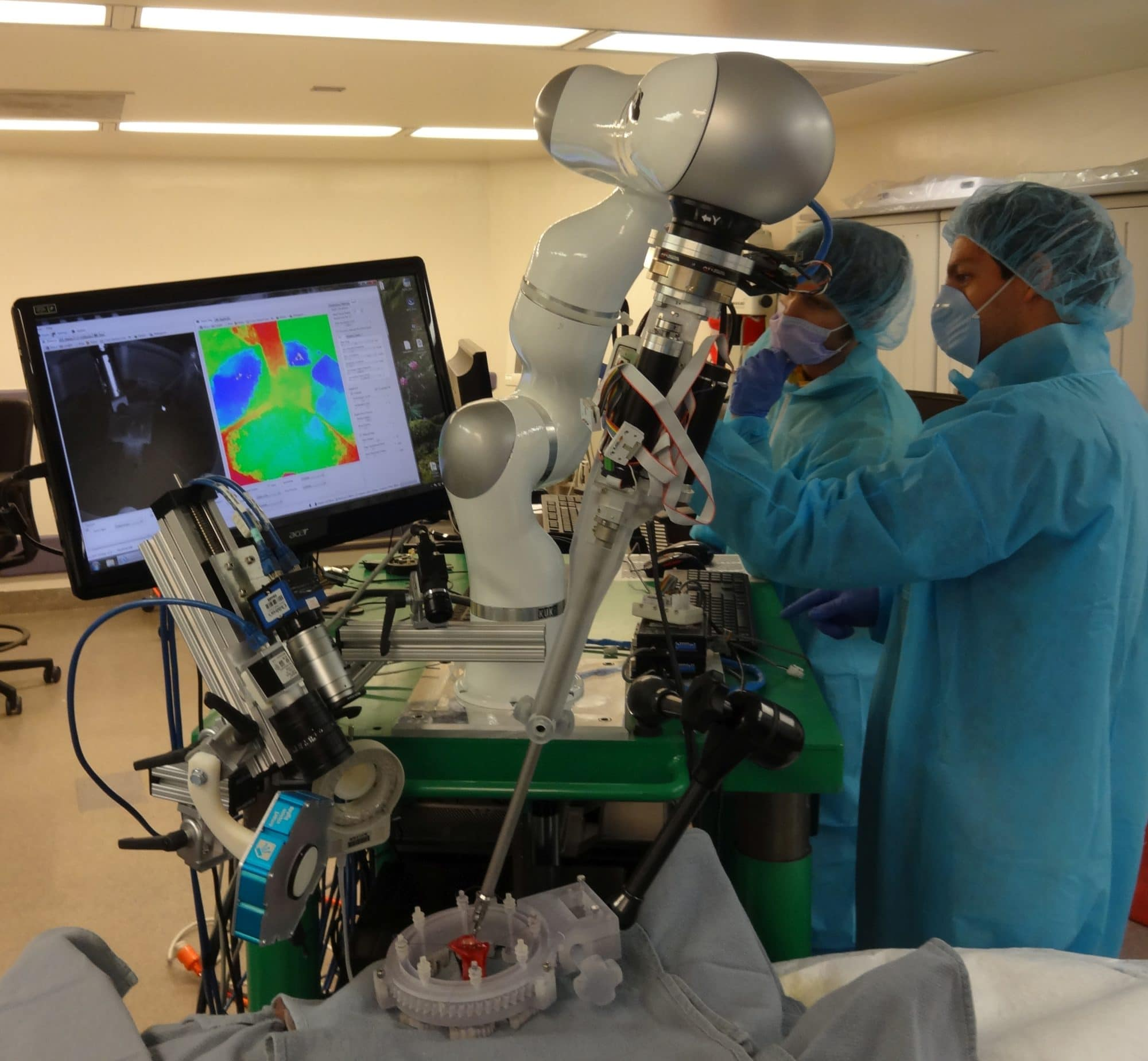 autonomous robotic surgery help of gpus nvidia blog