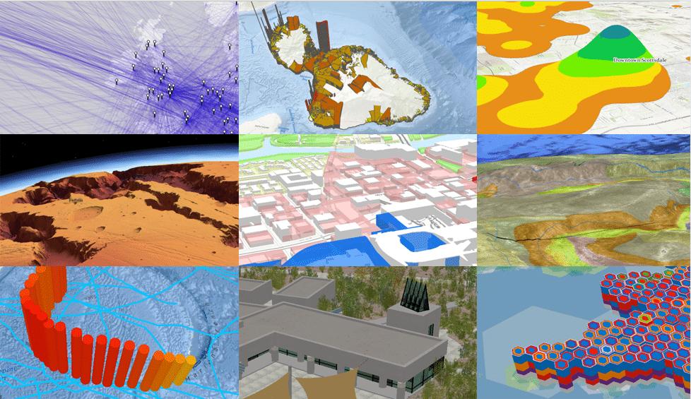 ArcGIS Pro 互動式地圖牆