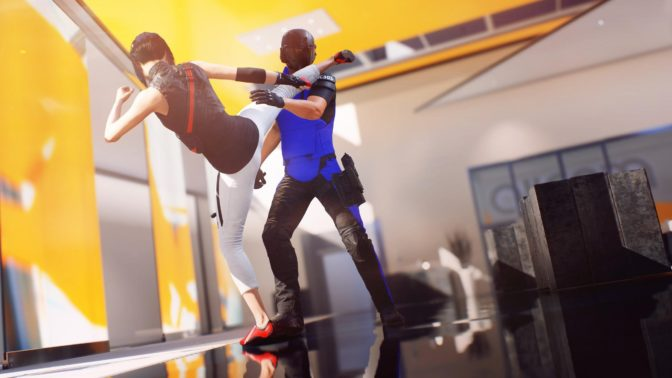 Mirror's Edge Catalystのプレイ画像