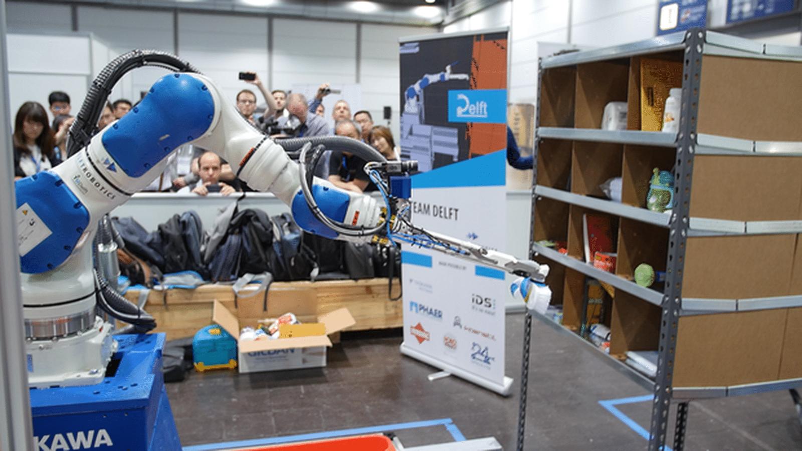 Gpus Power Winning Autonomous Robots In Amazon Picking
