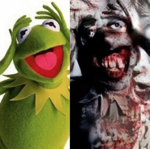 ai-learns-to-scare-us-kermit-the-frog-transformed-into-zombie