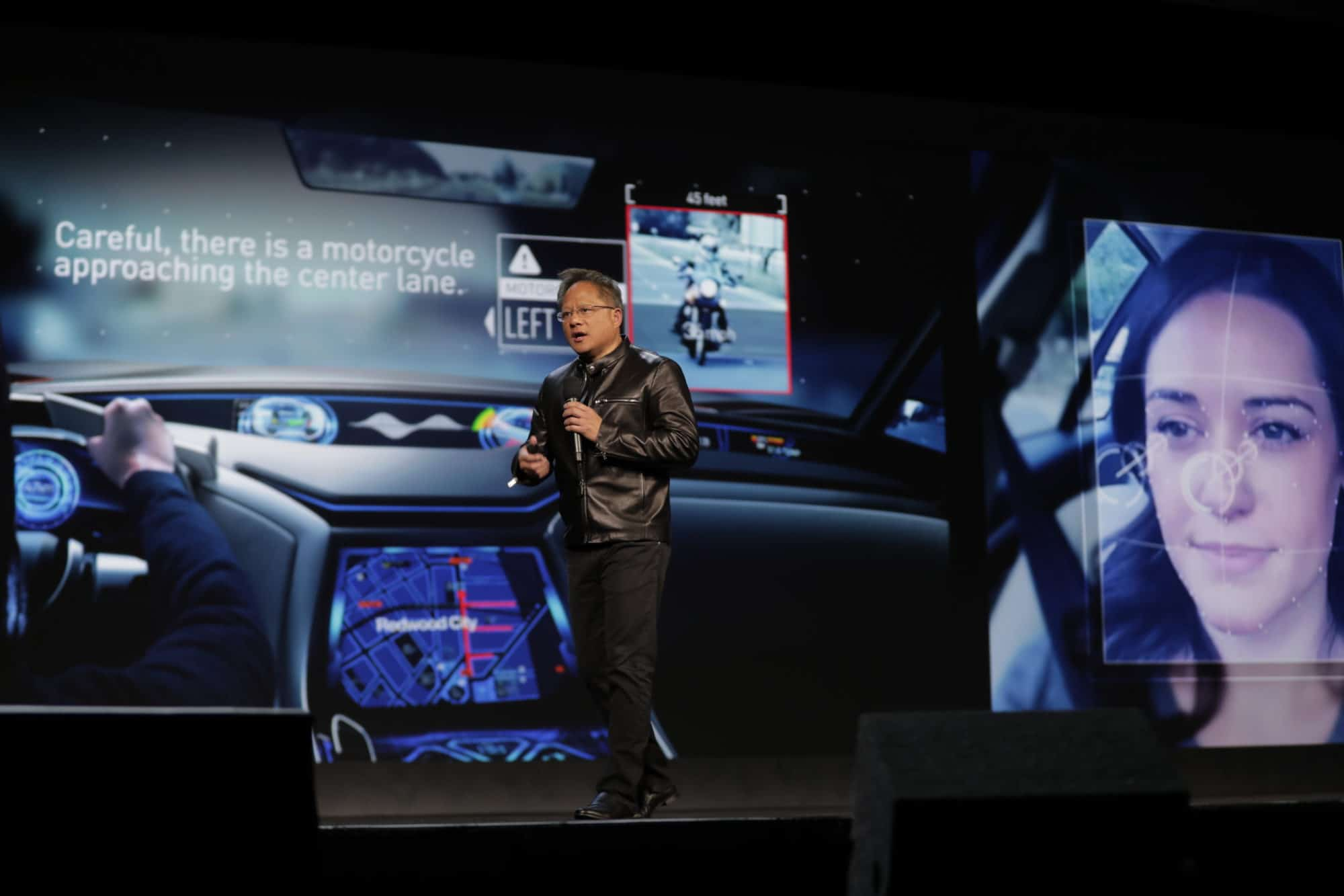 NVIDIA's CEO Jen-Hsun Huang discusses AI Co-Pilot