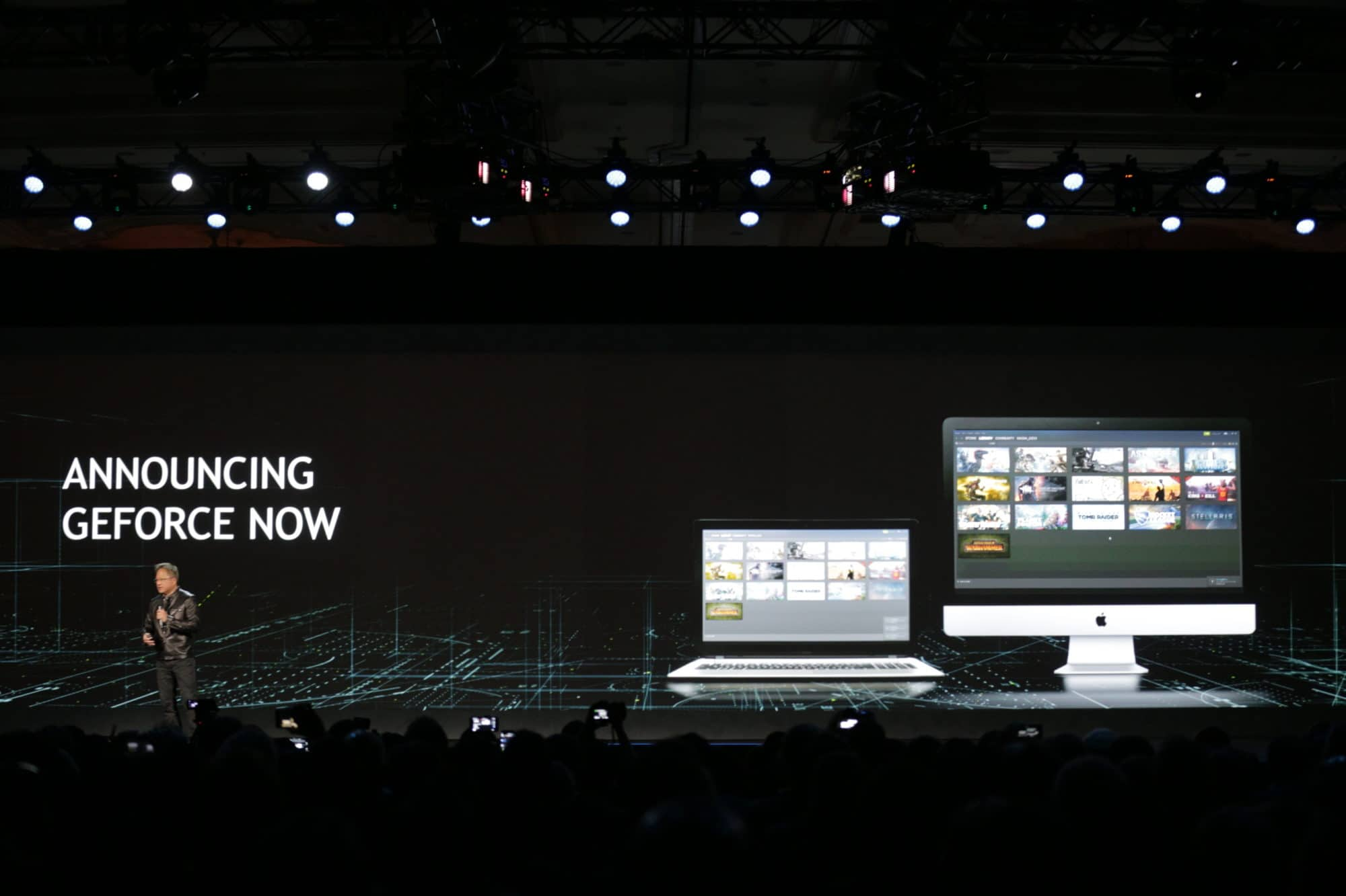 NVIDIA CEO Jen-Hsun Huang unveils GeForce Now service