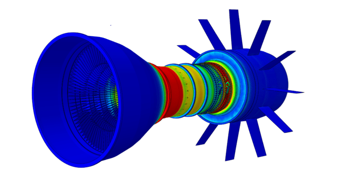Abaqus/CAE model courtesy: TEN TECH LLC.
