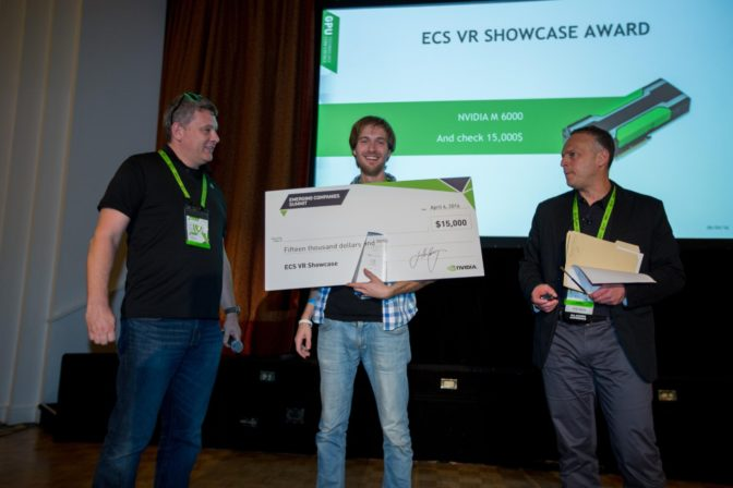 ECS VR Showcase Award Winner