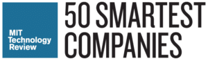MIT Technology Review 50 Smartest Companies ロゴ画像
