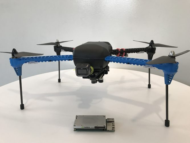 To keep costs low, researchers built their drone with off-the-shelf components. The drone navigates without GPS and relies instead on deep learning