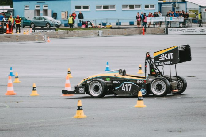 Formula Student Germany driverless racecar
