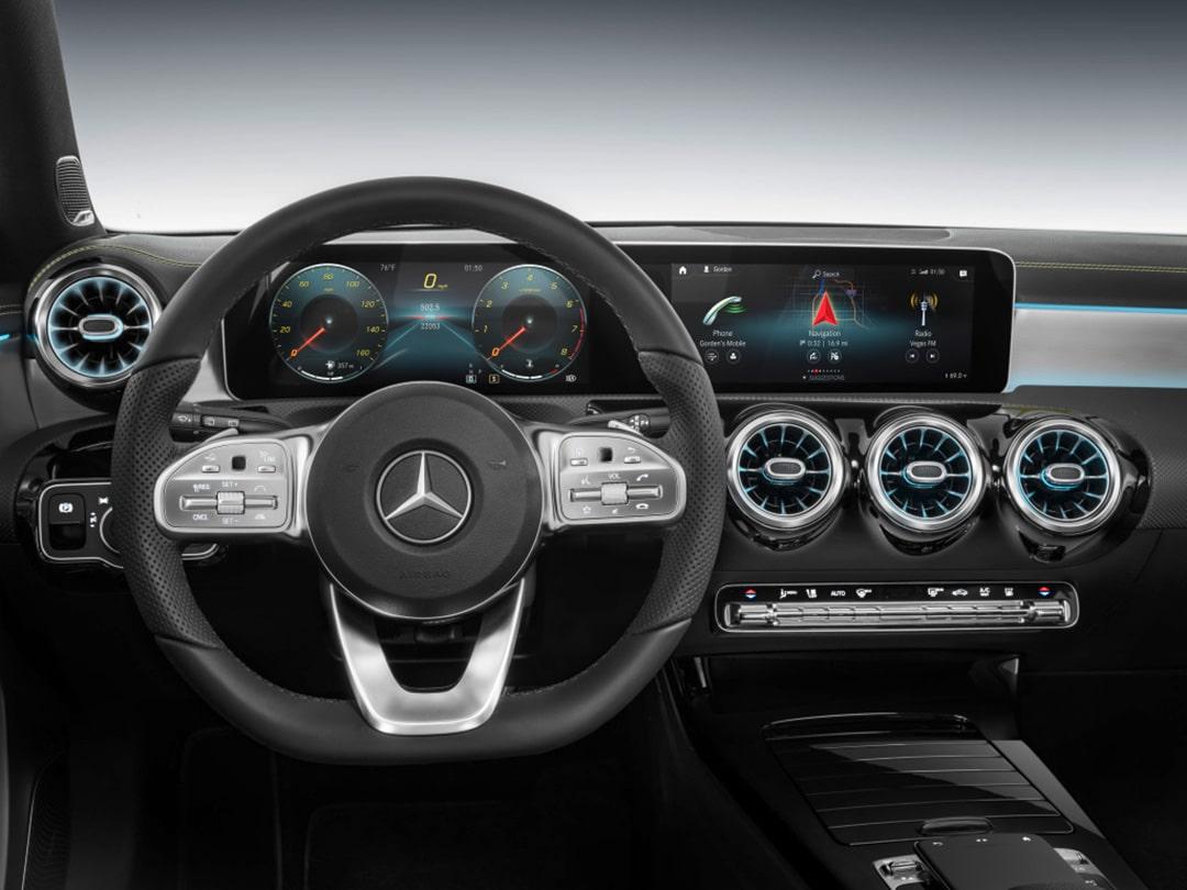 NVIDIA Powers MercedesBenz MBUX Its NextGen AI Cockpit The - Ix center car show 2018