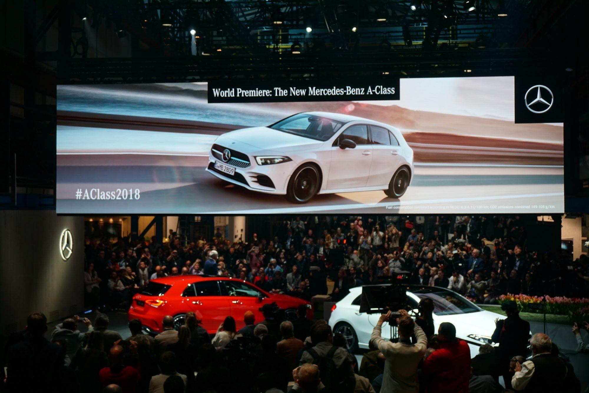 Smart Styling, Smarter Cockpit: Debut of Mercedes-Benz A