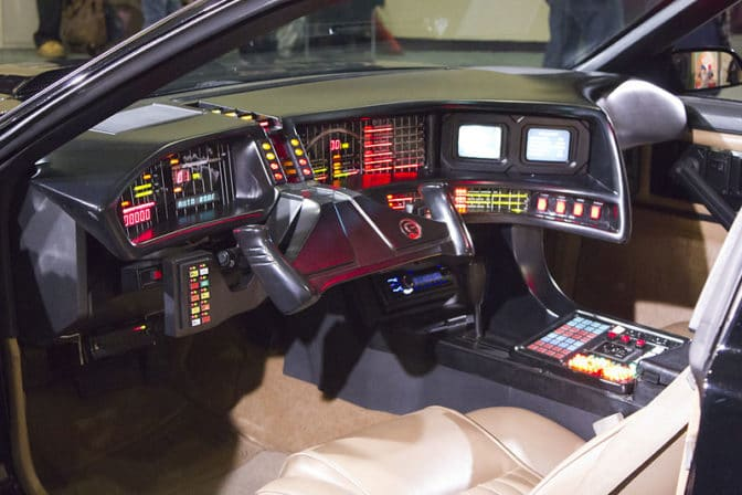 Back to the Future car cockpit.