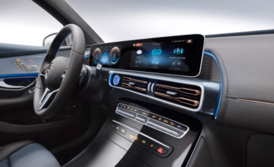 Mercedes-Benz EQC 開拓出未來的駕駛艙