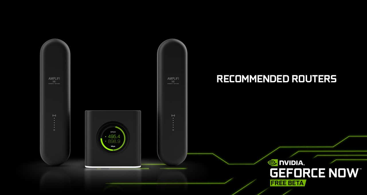 GeForce NOW Recommended Routers Optimize Cloud Gaming