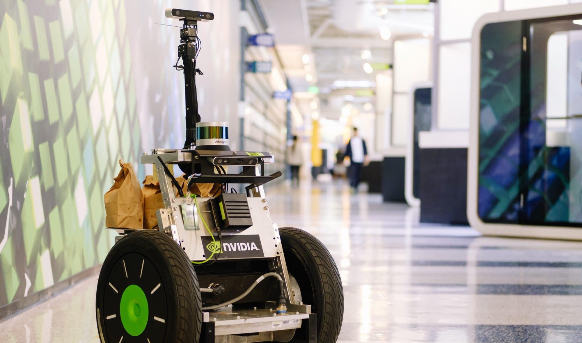 Popcorn Delivery Robot Bears Kernel Innovation | NVIDIA Blog