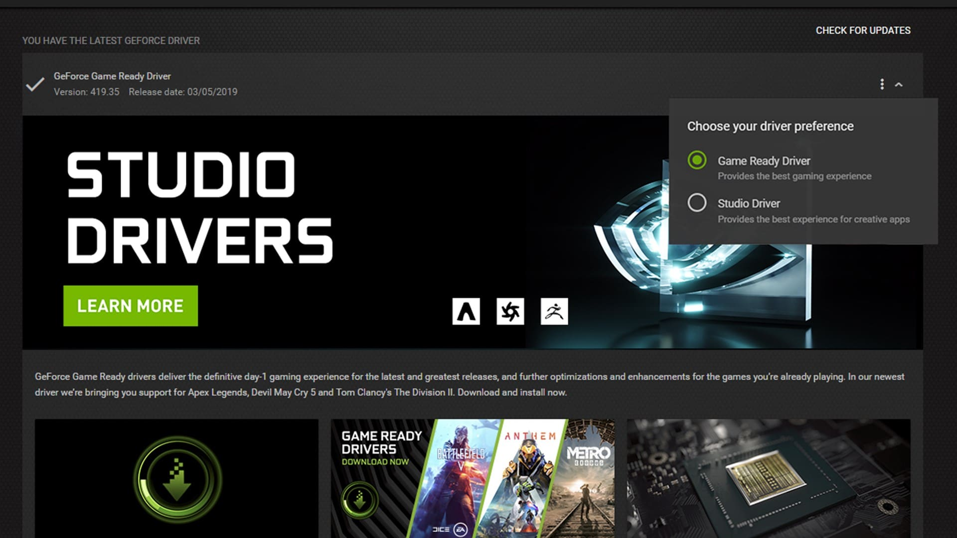 NVIDIA RTX GPUs, Studio Drivers Supercharge Creative Apps