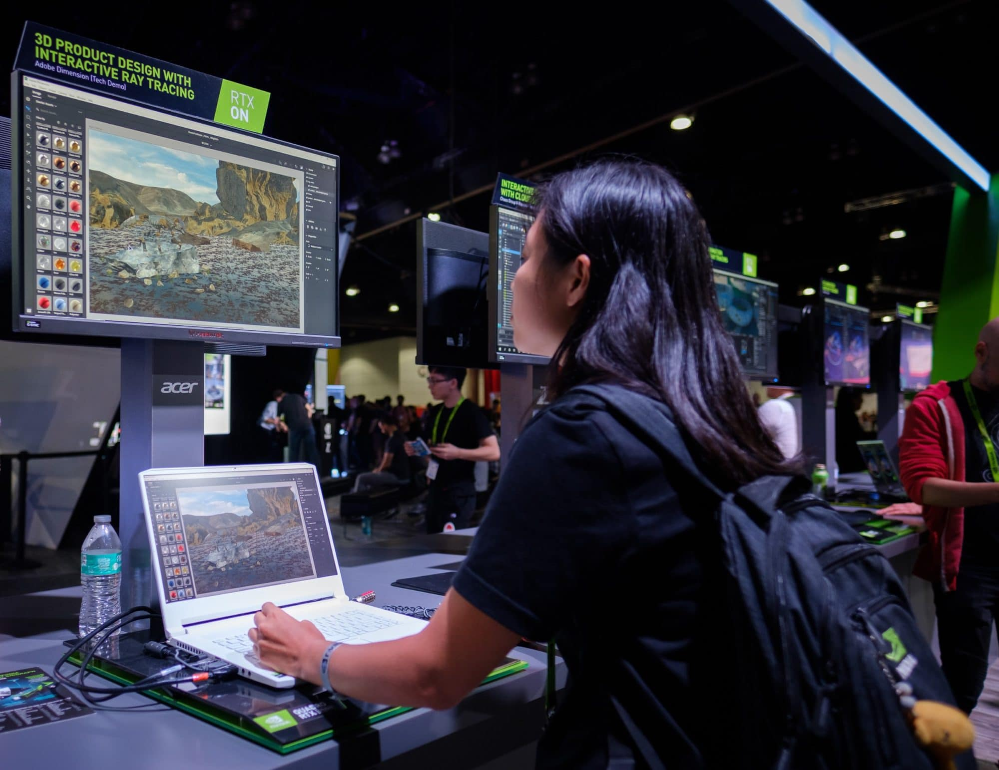 NVIDIA Studio Takes Left, Right and Center Stage at SIGGRAPH