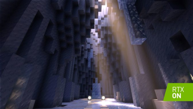 RTX Lands in 'Minecraft,' World's Best-Selling Video Game
