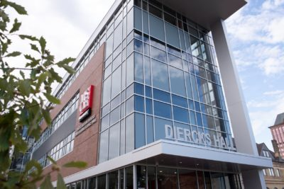 Exterior of Diercks Hall at MSOE