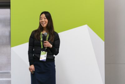 Catherine Ordun, senior data scientist at Booz Allen Hamilton, delivered the keynote at the GTC DC Women's Early Career Accelerator.