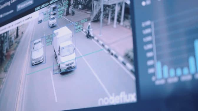 Nodeflux license plate recognition technology